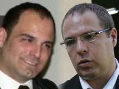 עורכי הדין פרץ וקניג (צילום: חדשות 2)