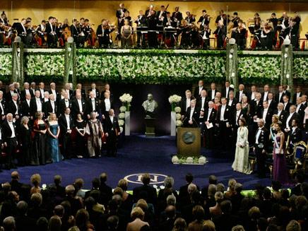 נובל 2010 (צילום: רויטרס)