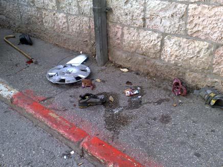 פעוט בן שנתיים נהרג (צילום: יוסי זילברמן, חדשות 2)