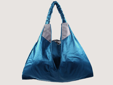 תיק טורקיז של Mal Bags (צילום: styleriver)