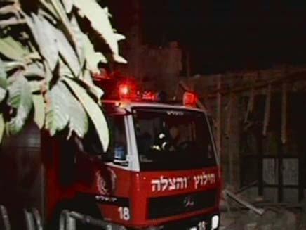 בנין קרס ירושלים (צילום: חדשות 2)