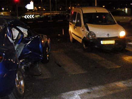 תאונת דרכים, אילוסטרציה (צילום: חדשות 2)
