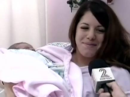 שני גיגי, היולדת המקדימה (צילום: חדשות 2)