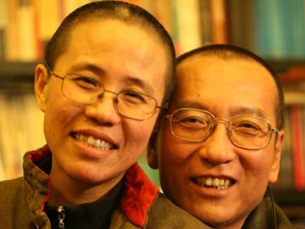 ליאו שיאבו ואשתו (צילום: רויטרס)