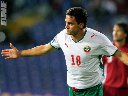 רנגלוב חוגג. הבקיע לרשת של סעודיה (רויטרס) (צילום: מערכת ONE)