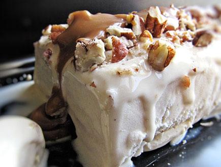 טרין גלידת וניל ופקאנים (צילום: דליה מאיר, קסמים מתוקים)