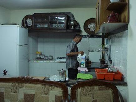 מטבח צימר אום אל פאחם ואדי ערה  (צילום: משפחת יחיאלי)