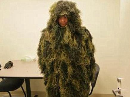 אני עץ. השודד המחופש (צילום: daily mail)