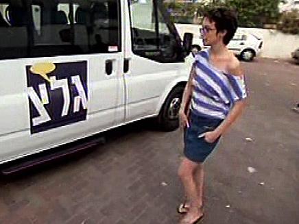 """בר בלפר, היום בגל""""צ (צילום: חדשות 2)"""