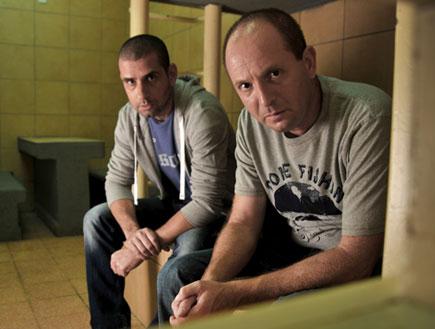 קיציס ופרידמן עצורים (צילום: אלדד רפאלי, מעצר בית)