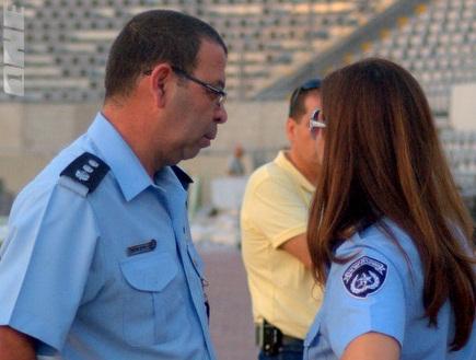 המשטרה בבלומפילד. לא עוצרים את הספסרים (גיא איזנר) (צילום: מערכת ONE)