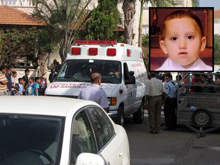 בתמונה הקטנה: ההרוג בן ה-3 (צילום: פאנט)