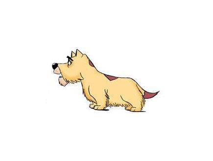 כלב מצוייר