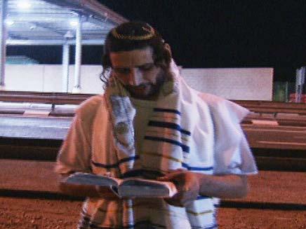 האסיר הפלסטיני שהתגייר - ושוחרר (צילום: חדשות 2)