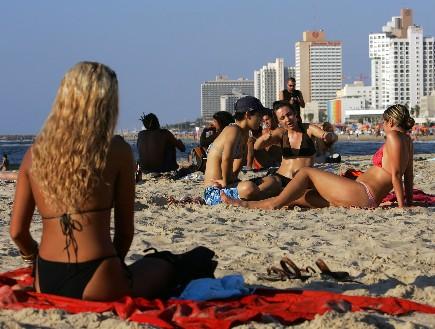 חוף בתל אביב (צילום: David Silverman, GettyImages IL)