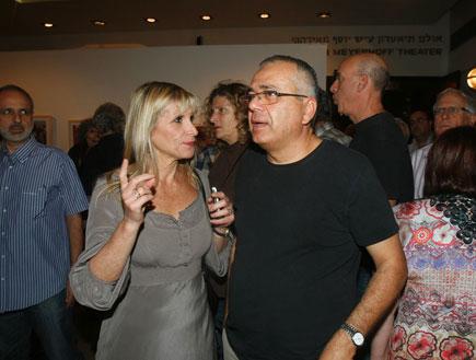אמנון לוי ויעל דן - פרמיירה אמא מאוהבת (צילום: אלעד דיין)