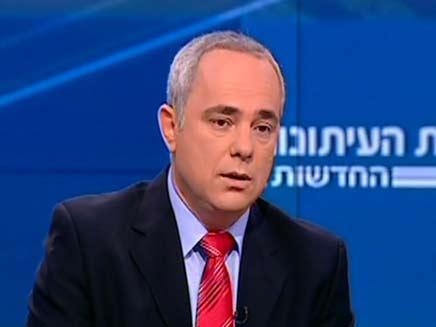יובל שטיניץ מתראיין בפגוש את העיתונות (צילום: חדשות 2)