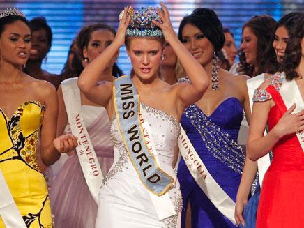 מיס עולם 2010 (צילום: AP)