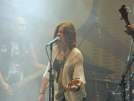 דיאנה גולבי הופעה (צילום: אלעד דיין)