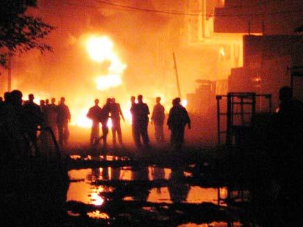 פיצוץ בעירק (צילום: חדשות 2)