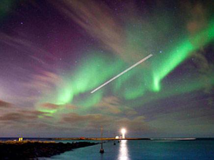האורות הצפוניים (צילום: ניוז קום)