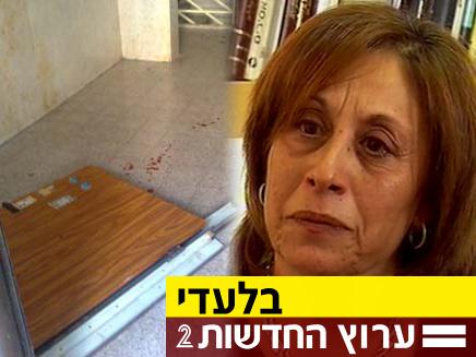 """קלרה לוי: לא גרמנו למוות של יונתן ז""""ל (צילום: חדשות 2)"""