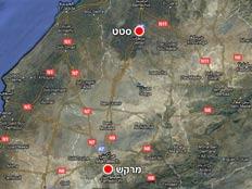 מפת האזור (צילום: גוגל מפות)