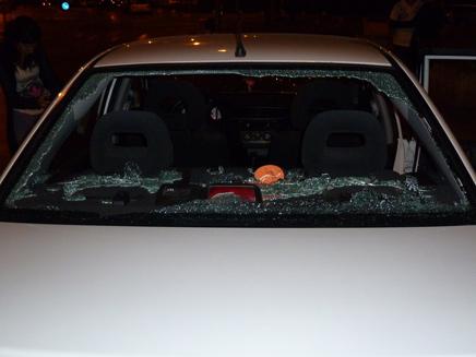 ישראלית נפצעה מיידוי אבנים בשומרון, ארכיון (צילום: אסף בן ארי)