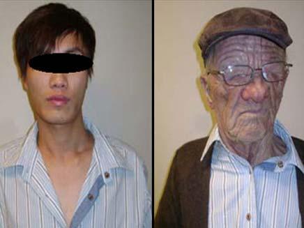נכנס לשירותים כקשיש - ויצא כצעיר אסייתי (צילום: cnn)