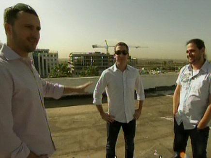 שלושת הישראלים המצליחים (צילום: חדשות 2)