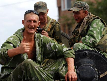 חיילים רוסיים (צילום: Burak Kara, GettyImages IL)
