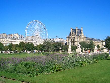 גני טילרי פריז (צילום: האתר הרשמי)