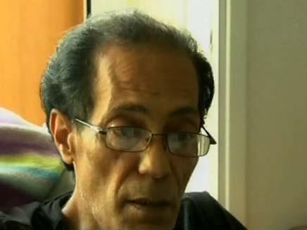 """אבא של הילדות שנרצחו ע""""י אמם (צילום: חדשות 2)"""