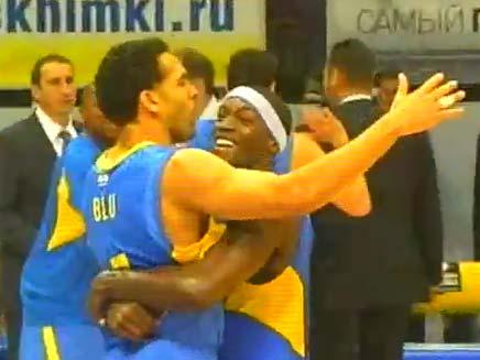 כדורסל מכבי תל אביב (צילום: חדשות 2)