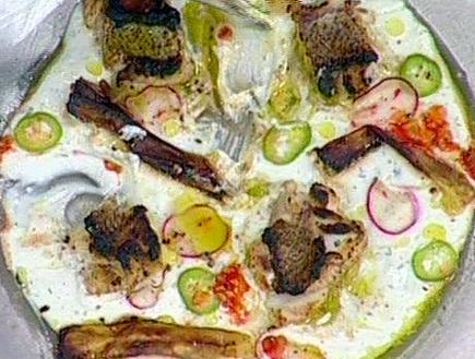 המנה של מוסא ואדי (תמונת AVI: מאסטר שף)
