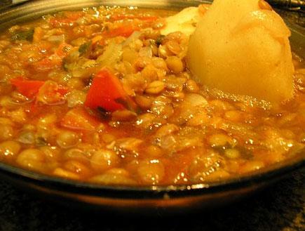 מרק עדשים עשיר (צילום: baronm10, אוכל מכל הלב)