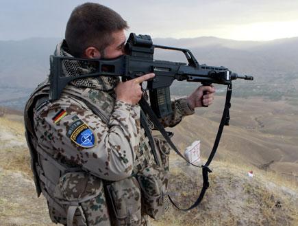 חייל גרמני (צילום: Miguel Villagran, GettyImages IL)