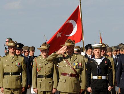 חיילים טורקים (צילום: Burak Kara, GettyImages IL)