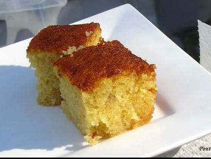 עוגת סולת (צילום: pontch1, פורום המתכונים של תפוז)