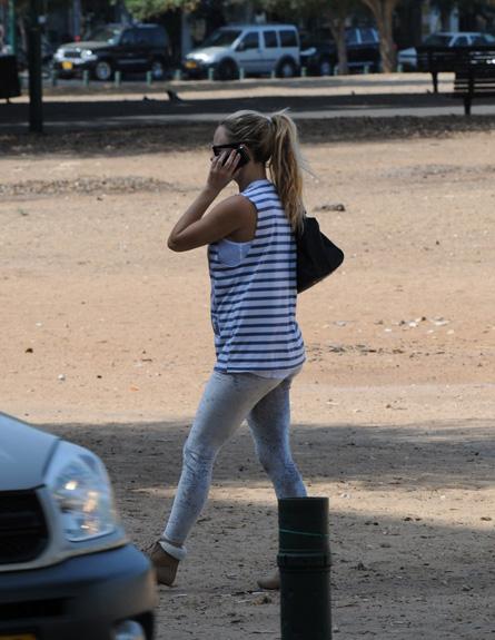 יעל בר זוהר בהריון (צילום: אלעד דיין)