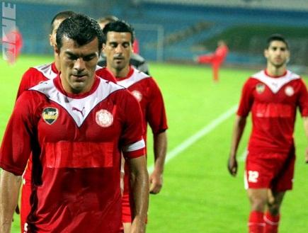 """קרלוס צקאנה בסיום המשחק: """"כואב להפסיד"""" (משה חרמון) (צילום: מערכת ONE)"""