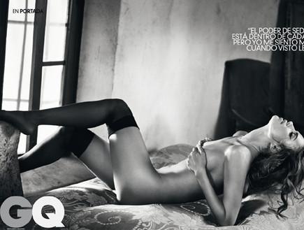 אירינה שייק - GQ (צילום: האתר הרשמי)