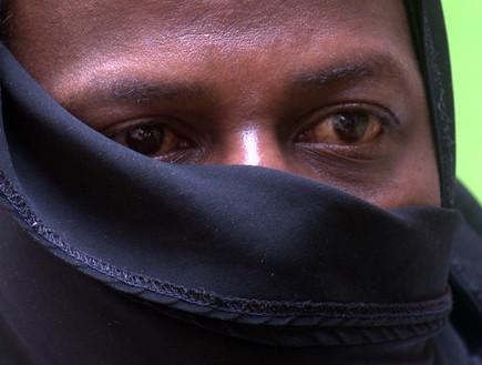 אילנה דיין באפריקה (צילום: גלעד טוקטלי, עובדה)