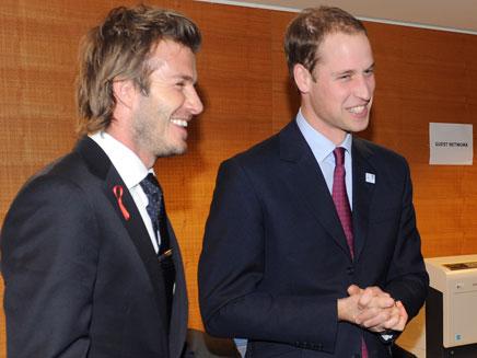 עם הנסיך הבריטי וויליאם (צילום: רויטרס)