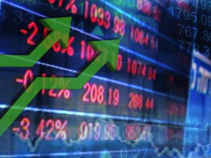 עליות שערים בבורסה (צילום: חדשות 2)