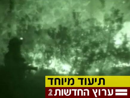 לילה עם הכבאים בלב השריפה (צילום: חדשות 2)