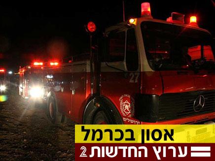 עוד חשודים בהצתות ברחבי הארץ (צילום: יוסי זילברמן, חדשות 2)