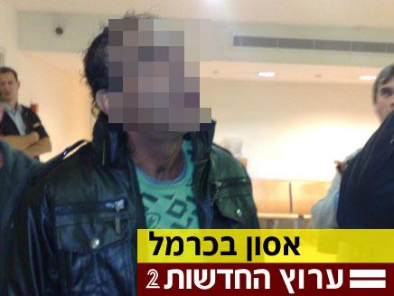 אביהם של החשודים, הבוקר בבית המשפט (צילום: חדשות 2)
