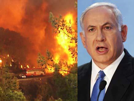 """רה""""מ מתחרט: יגיע לדיון על השריפה (צילום: חדשות 2)"""