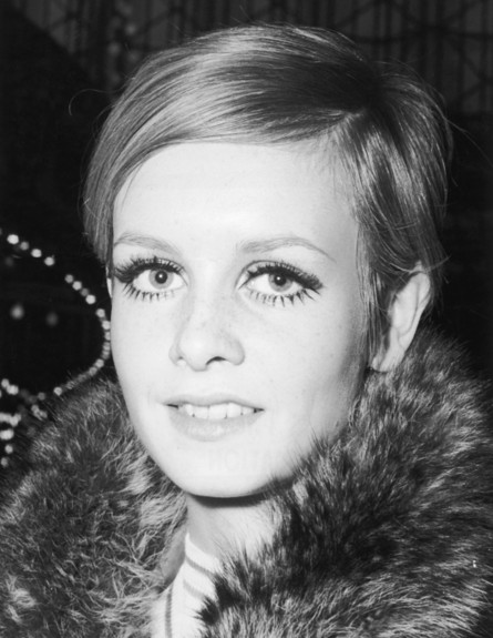 Twiggy - שיער קצר (צילום: William Vanderson, GettyImages IL)